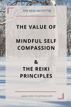 FREE MP3 Guided Reiki Meditation, Self Compassion and the Reiki Principles